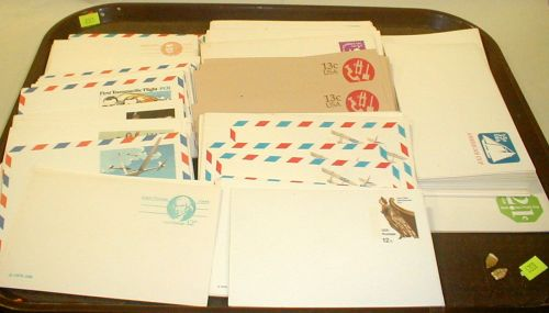 Unused vintage USPS prepaid postage