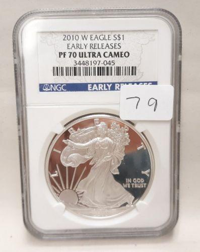 2010-W AMERICAN SILVER EAGLE