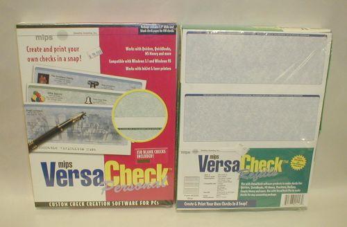 VersaCheck refills form 3000