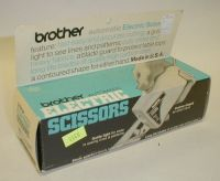 brother automatic electric scissors