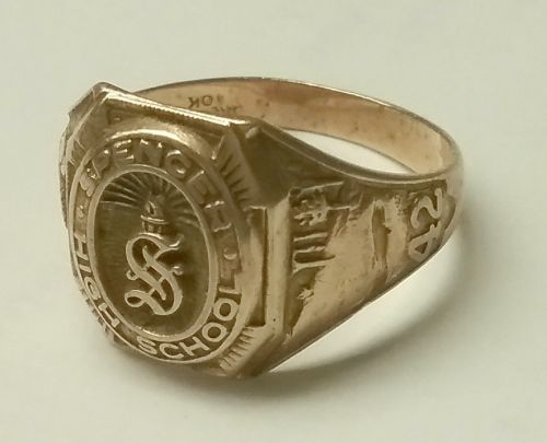10K class ring Spencer High School