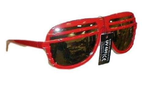 7 pairs - UV400 plastic sunglasses with screen - 7 pairs