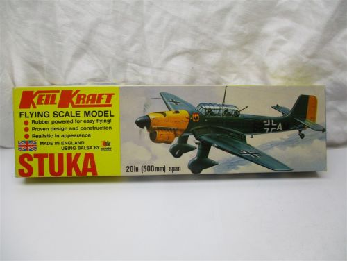 Keil Kraft STUKA flying scale model