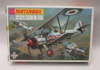 Matchbox SISKIN IIIA model airplane