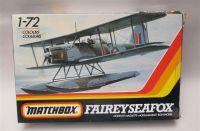 MATCHBOX FAIREY SEAFOX model kit