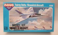 novo Fairey Delta - Research Aircraft model kit