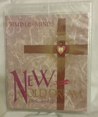 Simple Minds Blue-Ray Audio New Gold Dream