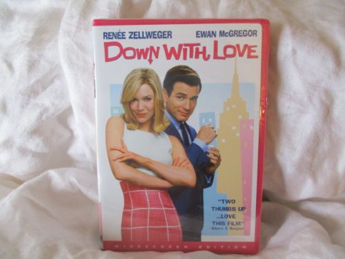 DOWN WITH LOVE unopened DVD