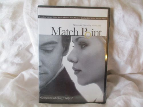 MATCH POINT unopened DVD