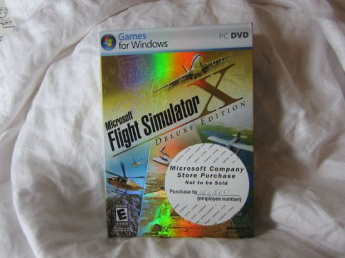 FLIGHT SIMULATOR PC DVD
