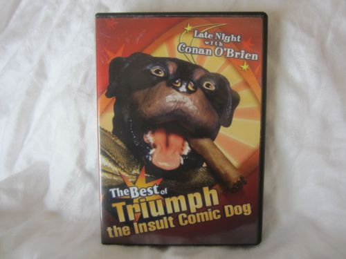 CONAN O'BRIEN BEST OF TRIUMPH COMIC DOG