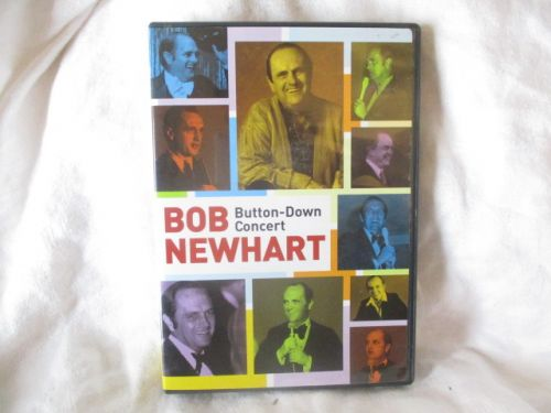 BOB NEWHART BUTTON-DOWN CONCERT