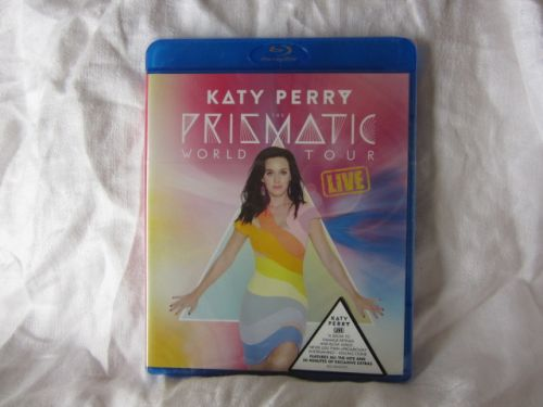 BLU-RAY KATY PERRY PRISMATIC WORLD TOUR