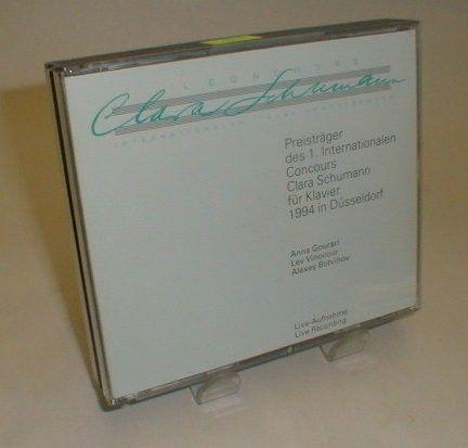 1. CONCOURS Clara Schuman INTERNATIONALER KLAVIERWETTBEWERS TWO DISC CD