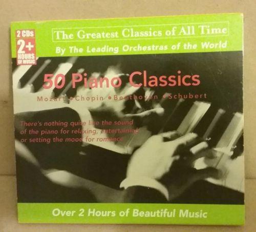 50 Piano Classics 2 CD set