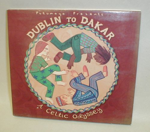 UTUMAYO PRESENTS - DUBLIN TO DAKAR - A CELTIC ODYSSEY DIGIPAK CD