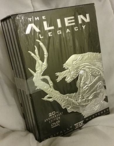 The Alien Legacy 20th Anniversary Edition DVD set