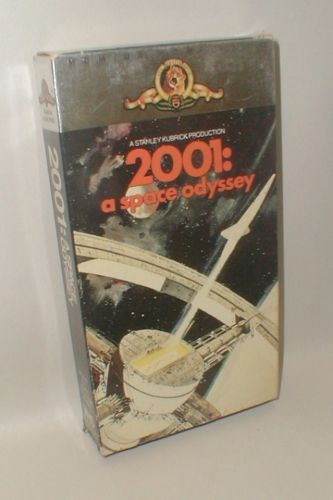 2001: a space odyssey VHS tape