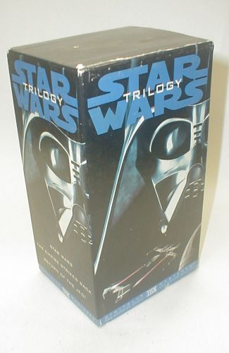 Star Wars Trilogy VHS tape set